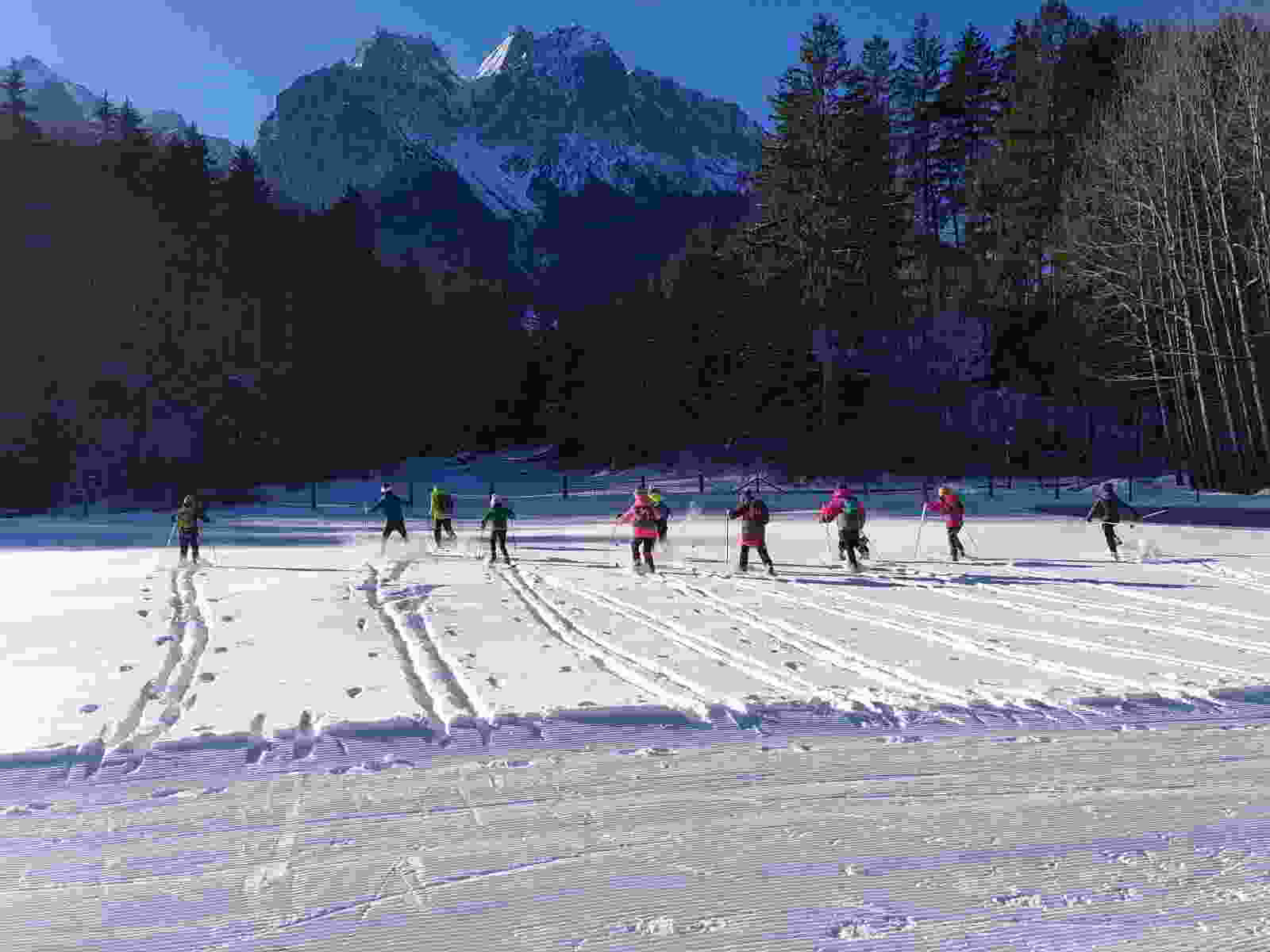 Wintersporttag der Grundschule Grainau